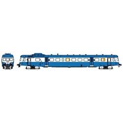 X2816 bleu Logo SNCF nouille Dépôt de LYON-VAISE Epoque V