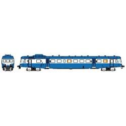 X2907 bleu Logo SNCF plein Dépôt de LIMOGES Epoque V