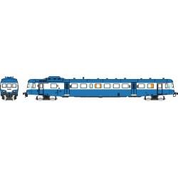 X2896 bleu Logo SNCF plein Dépôt de LYON-VAISE Epoque V
