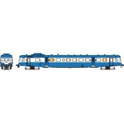 X2908 bleu Logo SNCF nouille Dépôt de LIMOGES Epoque V