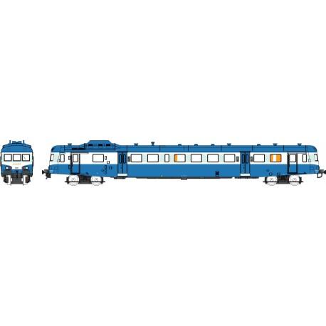 """X-2891 Bleu Logo """"SNCF"""" Dépôt de TOULOUSE Ep.V Analogique"""