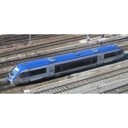 X73500 TER Logo SNCF CARMILLON Toit entier bleu